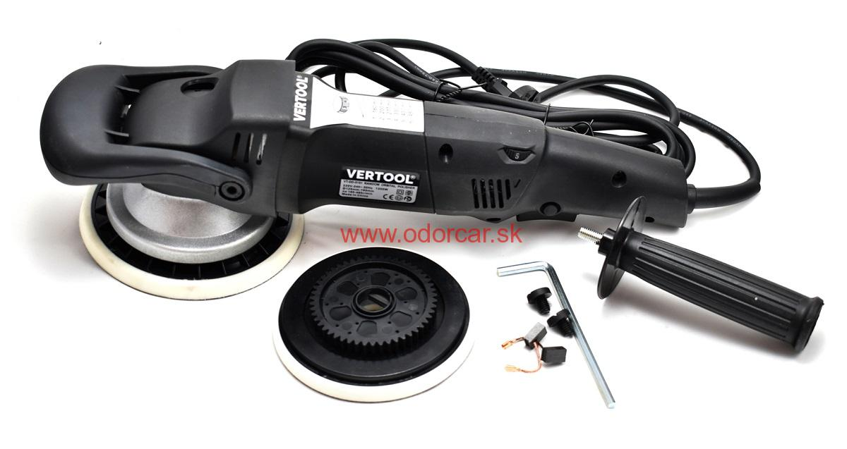 Vertool Force Drive Dual Action Polisher orbitálna leštička s núteným orbitom