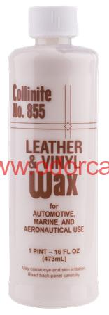 Collinite No. 855 Liquid Leather and Vinyl Wax 473 ml vosk na kožu a vinyl