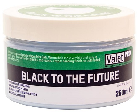 ValetPro Black To The Future Trim and Tyre Dressing 250 ml