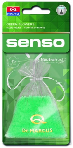 Dr.Marcus Senso Magic Pearls -  Green Flowers