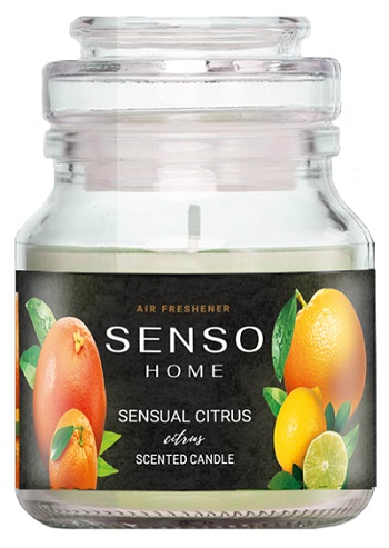 Dr.Marcus Senso Home Scented Candle - Sensual Citrus 130g