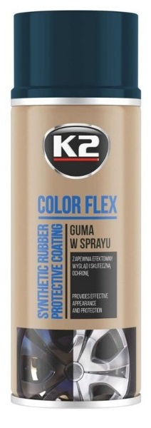 K2 Color Flex -  tekutá guma v spreji carbon 400ml
