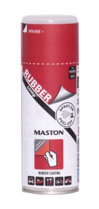 Maston Rubbercomp tekutá guma v spreji červená pololesklá 400ml