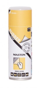 Maston Rubbercomp tekutá guma v spreji žltá pololesklá 400ml