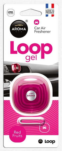Aroma Car - Loop Gel Red Fruits